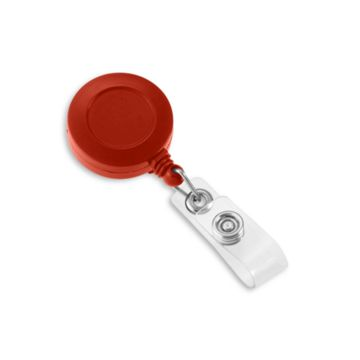 Round Solid Color Badge Reel