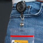 Round Translucent Badge Reel