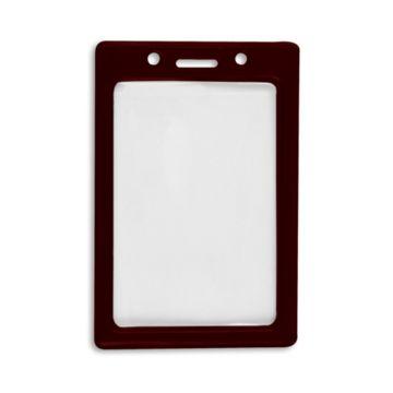 Vertical Color Frame Badge Holder
