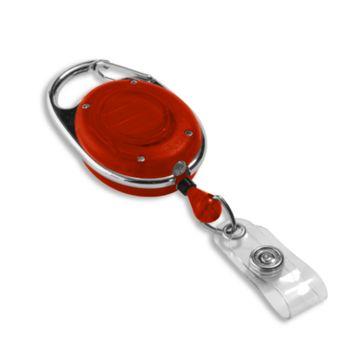 Carabiner Badge Reel w/ LED Light
