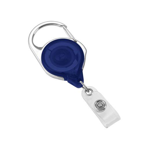 Badge Reel - Carabiner w/ Belt Clip