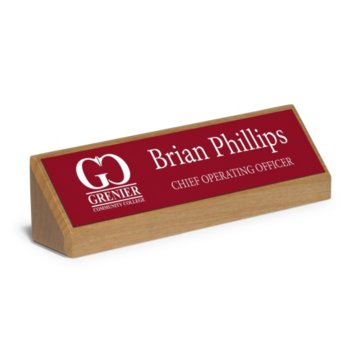 Executive Desktop Engraved Nameplate