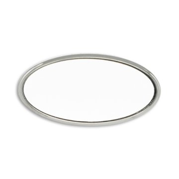 Classic Engraved Oval Nametag