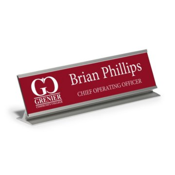 Desktop Engraved Nameplate