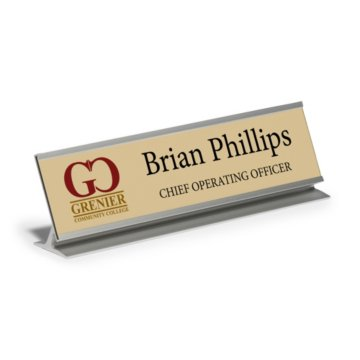 Desktop Full Color Nameplate