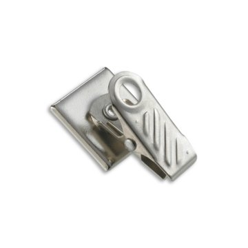 Self Adhesive Swivel ID Badge Clip