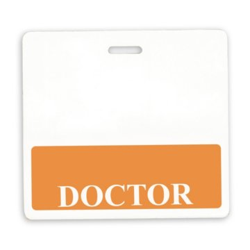 Doctor Position Identity Card