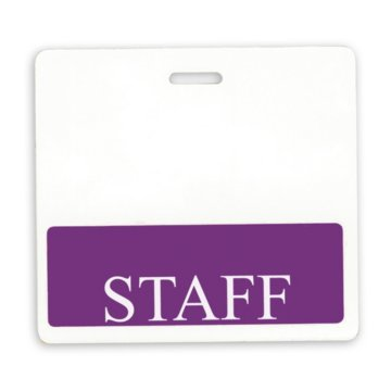 Staff Position Identity Card