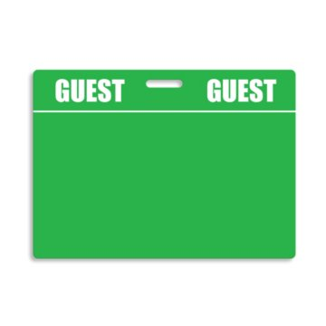 Reusable Badge Tags - Guest