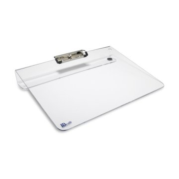 Clear Acrylic Visitor Login Clipboard