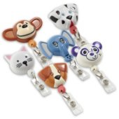 Animal Shaped Badge Reel Variety Pack