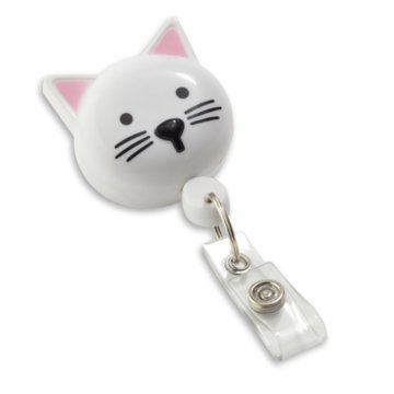 Cat Shaped Badge Reel