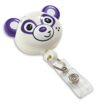 Panda Shaped Badge Reel