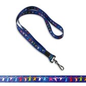 Team Diversity People Pre-Designed Lanyard