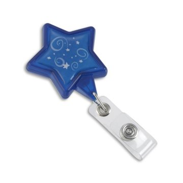 Blue Star Pre-Designed Badge Reel
