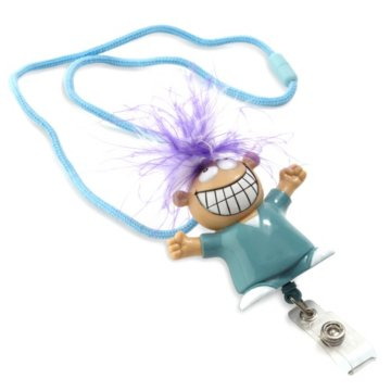 Goofy Guy Retractable Lanyard w/ Doc