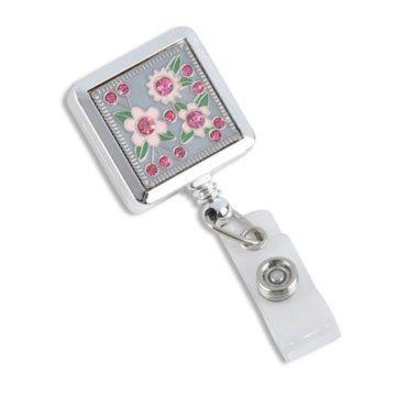Roses Blooming Florals Fashion Badge Reel