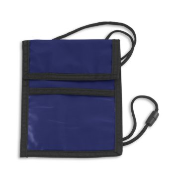 Event Zipper Pouch Badge Holder