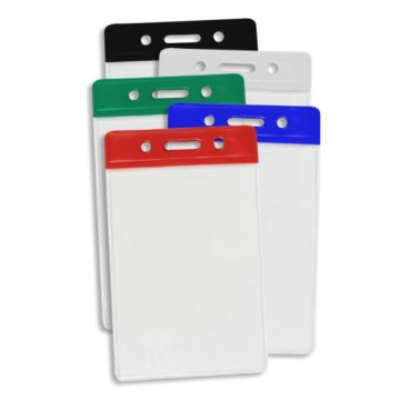 Vertical ID Color Bar Badge Holder Variety Pack