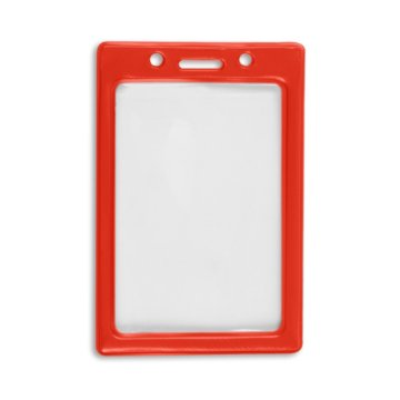 Vertical Color Frame Badge Holder