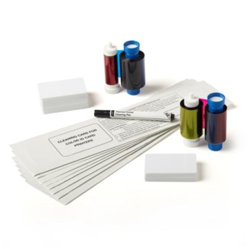 ID Maker Value Printer Supply Bundle