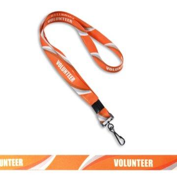 Volunteer Pre-Designed Lanyard
