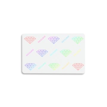Built-In Diamond Hologram Secure 30 mil PVC Cards