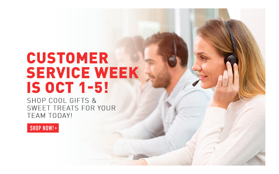 Customer Service Week is October 1-5!