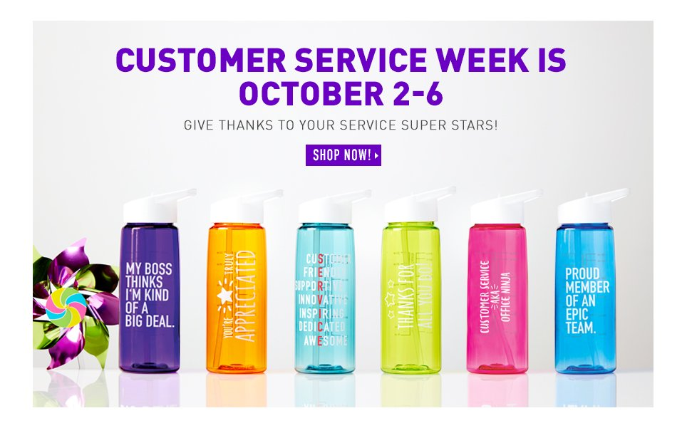 Customer Service Week is October 2-6