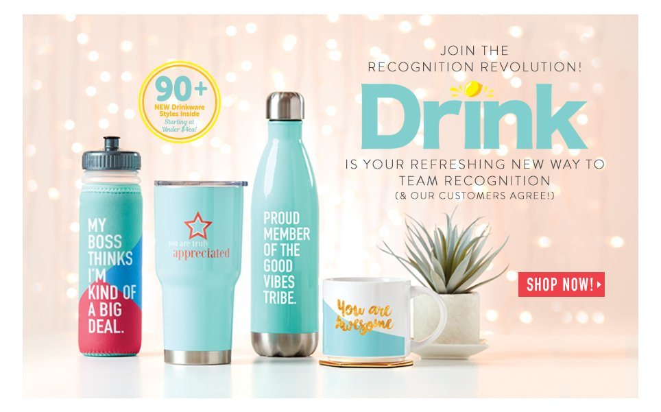 Join the Recognition Revolution! Drink Is Your Refreshing New Way to Team Recognition (& our Customers Agree!)