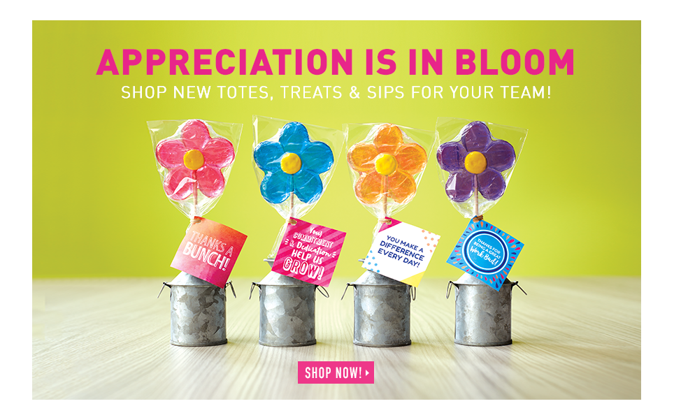 Appreciation is in bloom