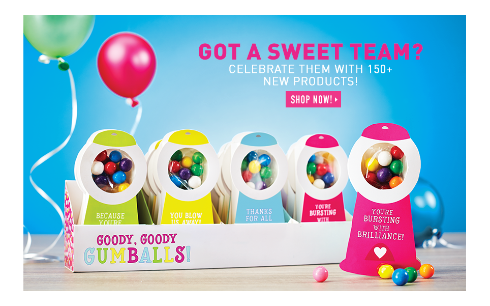 Got a sweet team? Celebrate them with 150+ new products