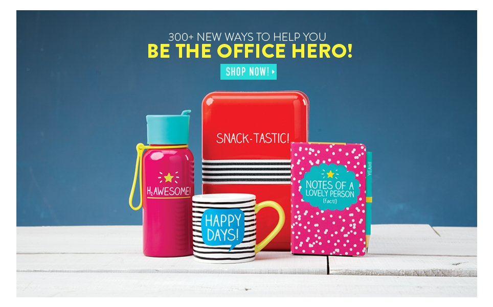 300+ New Ways to Help You Be the Office Hero!