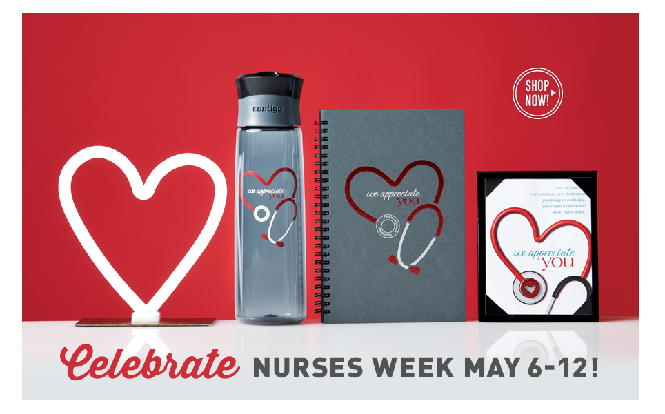 Shop for your superheroes in scrubs. National Nurses Week is May 6-12