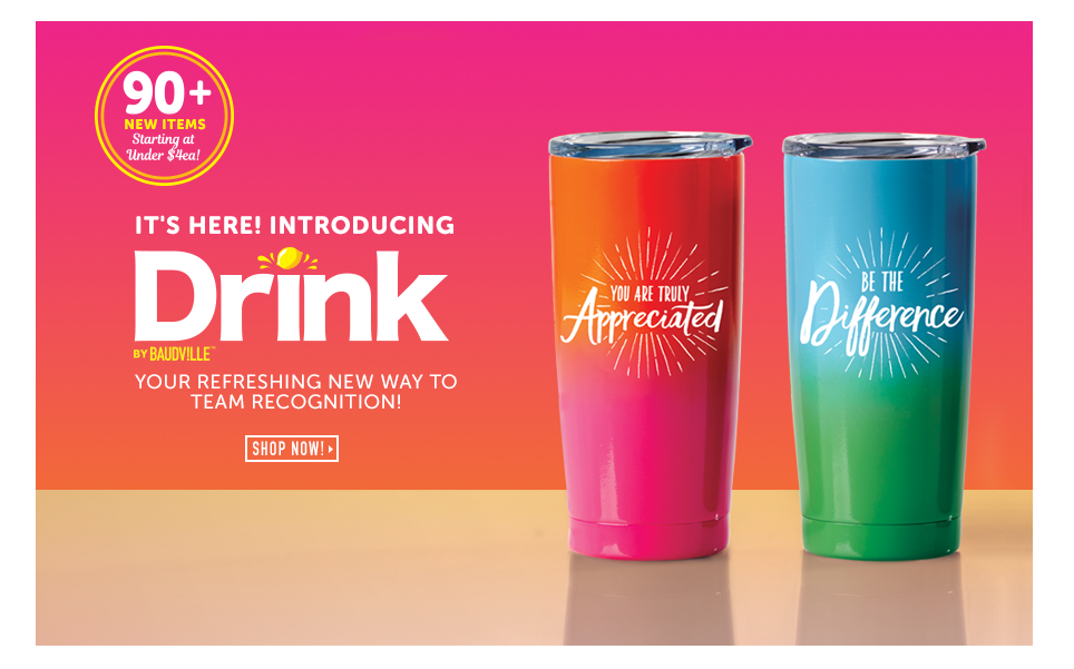 Shop 90+ new drinkware styles!