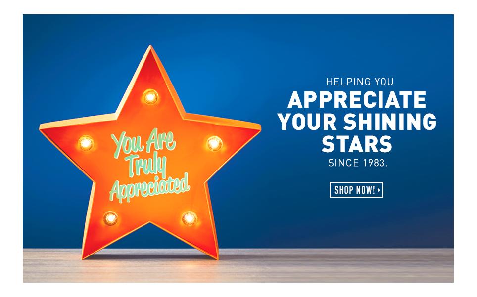 Helping You Appreciate Your Shining Stars Since 1983.