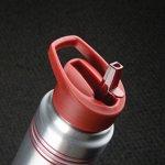 Banded Aluminum Water Bottle
