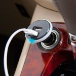 Sleek USB Car Charger
