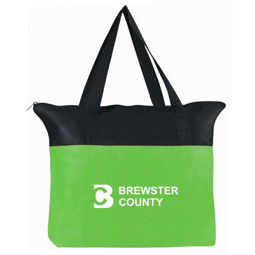 Zip-Up Tote Bag