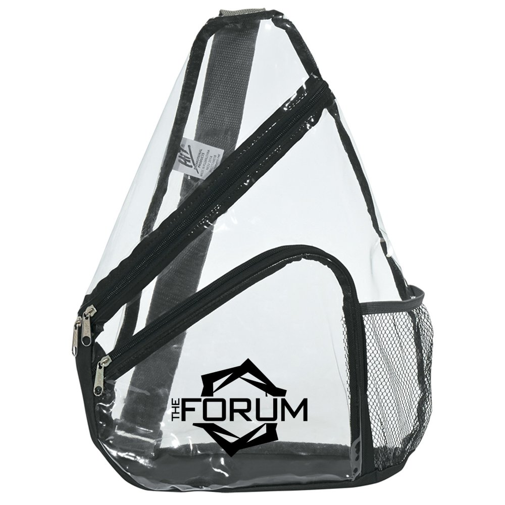 See-Through Sling Backpack