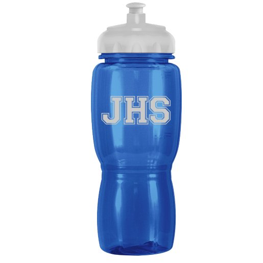 H2O Water Bottle - Translucent Colors
