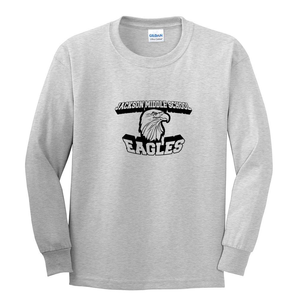 Gildan Ultra Cotton Long Sleeve Youth Shirt