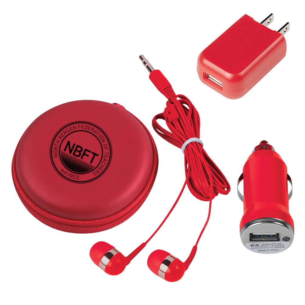 3-in-1 Electronics Travel Set