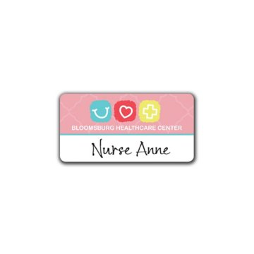 Reusable Name Badge