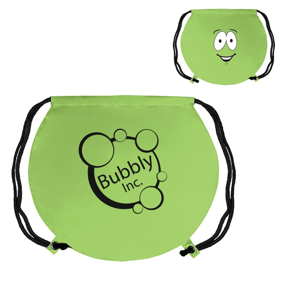 Silly Smile Drawstring Backpack