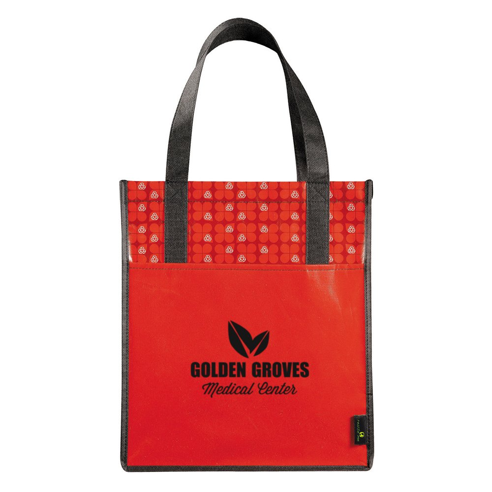 Eco-Print Shopper Tote