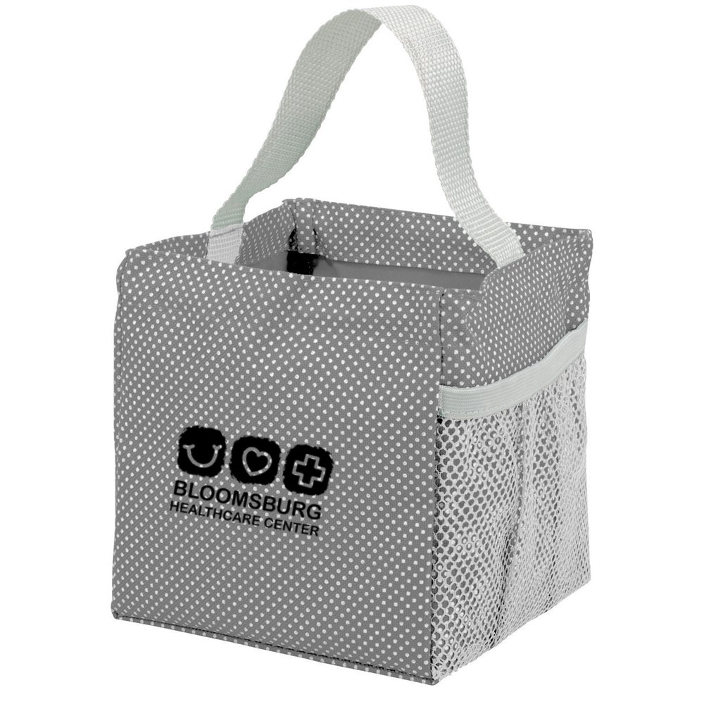 Mini Utility Polk-a-Dot Tote