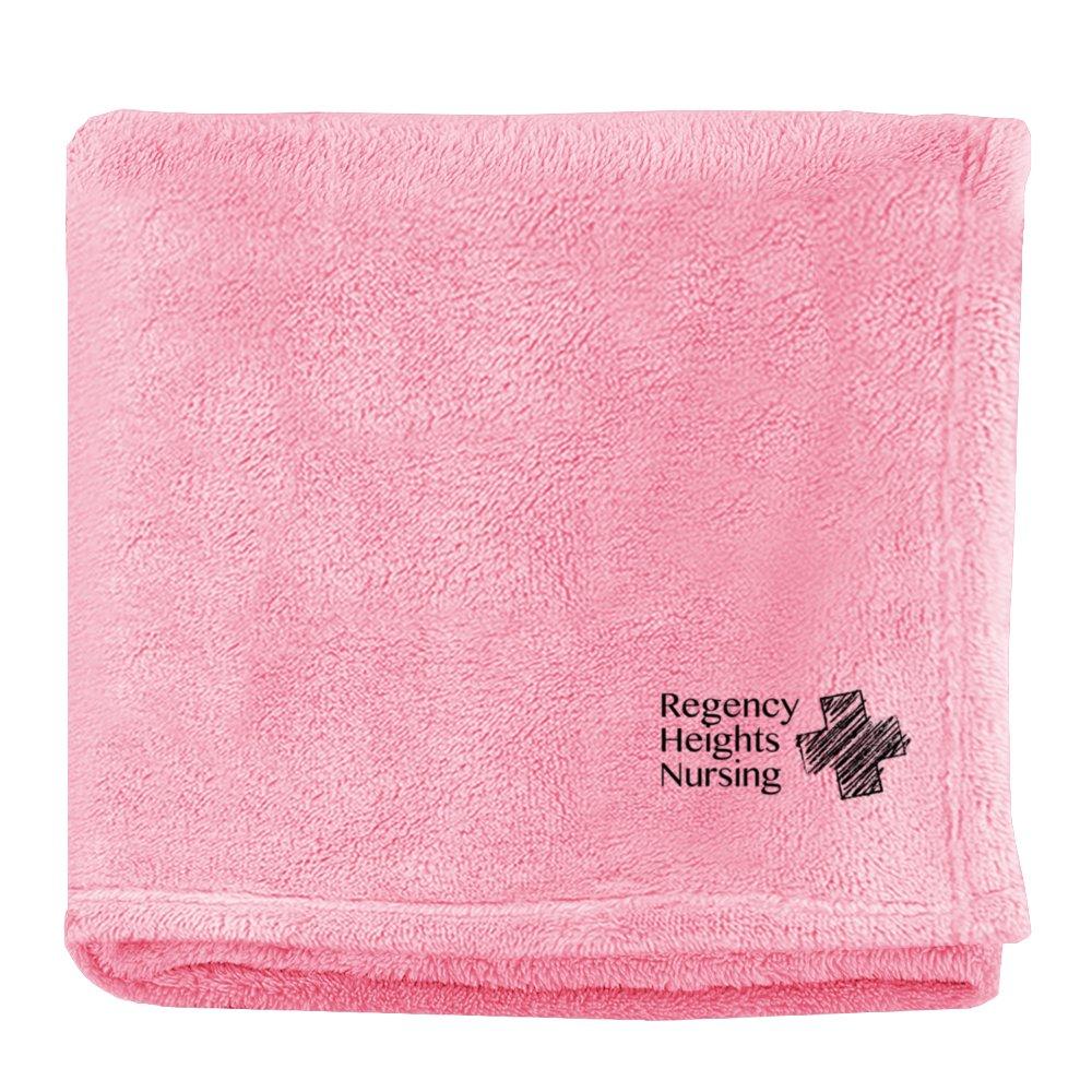 Embroidered Soft Touch Velura™ blanket
