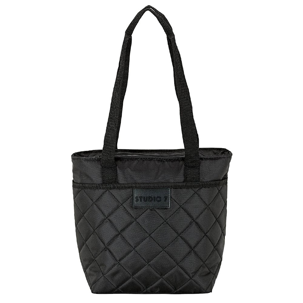 Quilted Cooler Tote