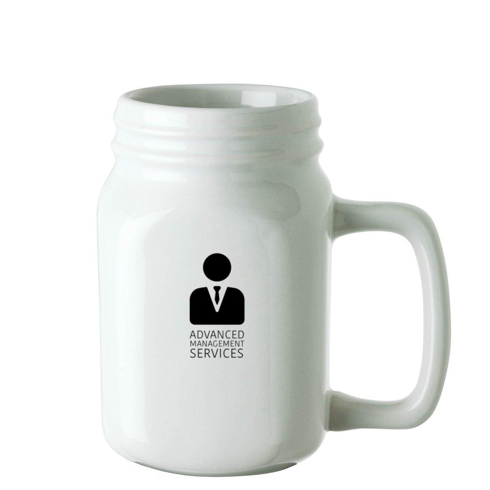 Ceramic Mason Mug